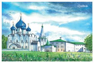 """Суздаль """"Суздальский Кремль"""""""