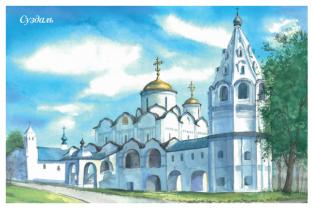 """Суздаль """"Покровский монастырь"""""""
