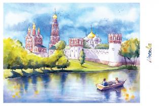 """Москва """"Новодевичий монастырь"""""""