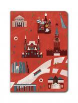 "Блокнот Москва ""Карта"""