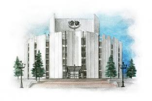 Открытка Челябинск «Театр драмы имени Наума Орлова»